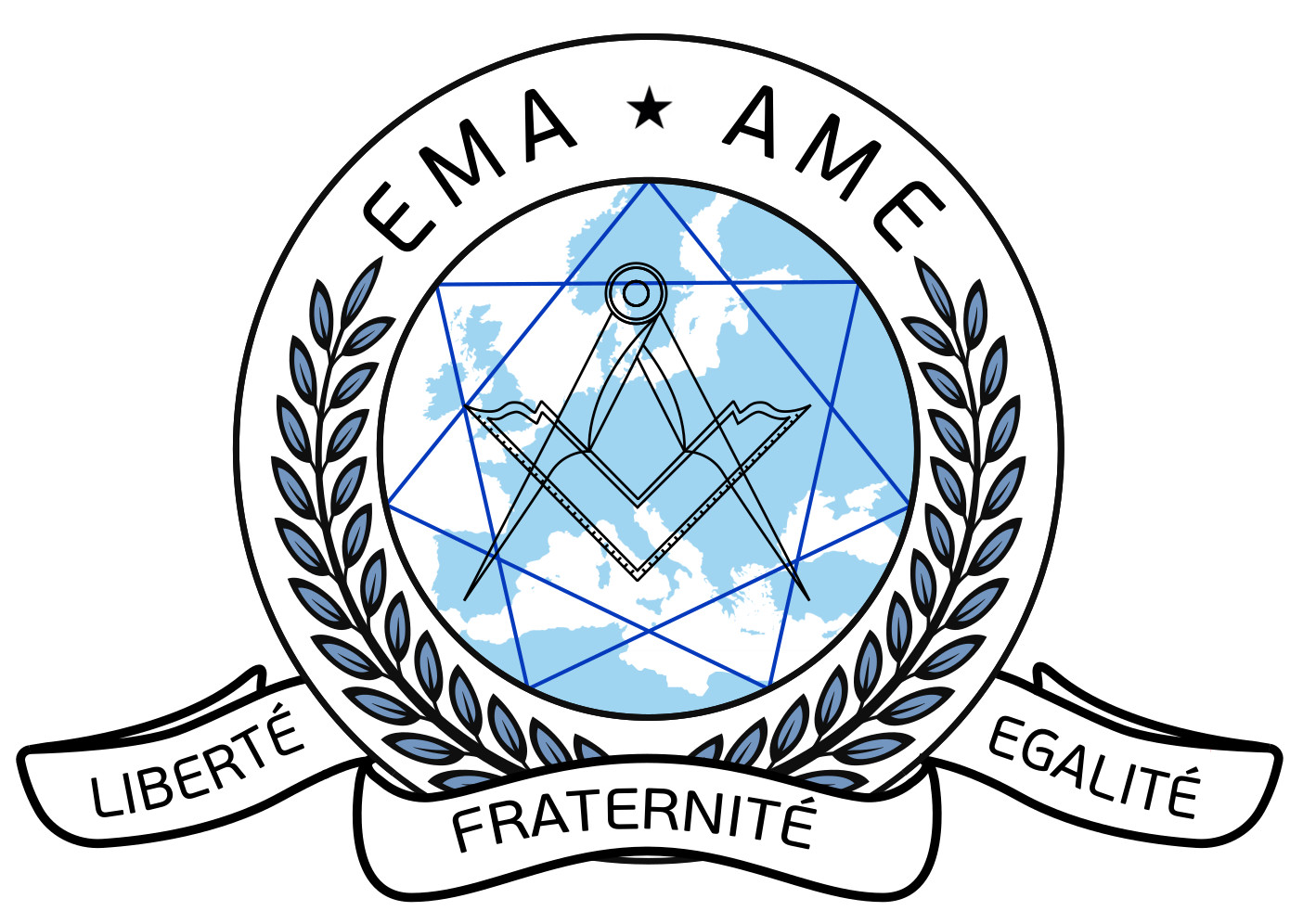 Logo European Masonic Alliance